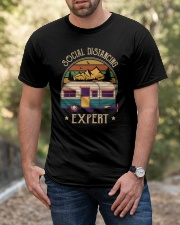 THE SOCIAL DISTANCING EXPERT Classic T-Shirt apparel-classic-tshirt-lifestyle-front-53