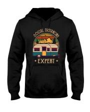 THE SOCIAL DISTANCING EXPERT Hooded Sweatshirt thumbnail