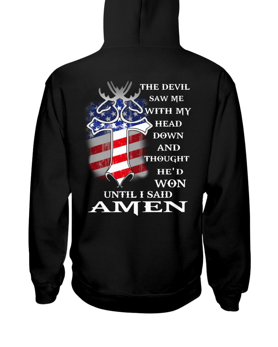 MOOSE AND AMERICA Hooded Sweatshirt