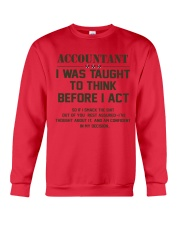 AM A LOVING ACCOUNTANT Crewneck Sweatshirt thumbnail