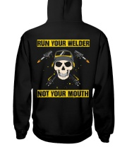 DON'T RUN YOUR MOUTH Hooded Sweatshirt thumbnail