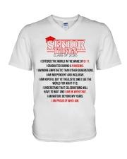 SENIOR 2020 V-Neck T-Shirt thumbnail