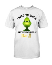 GRINCH WITH BAR Classic T-Shirt front