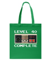 GAME COMPLETE 40 Tote Bag front