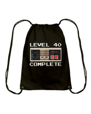 GAME COMPLETE 40 Drawstring Bag thumbnail