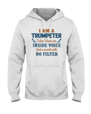 A TRUMPETER WITH NO INSIDE VOICE Hooded Sweatshirt tile