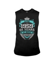 HAPPY BIRTHDAY JUN 1959 Sleeveless Tee thumbnail