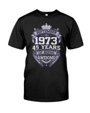 SPECIAL BIRTHDAY GIFT 973 Classic T-Shirt front