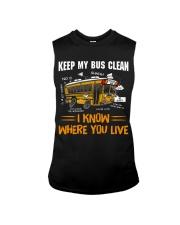 KEEP MY BUS CLEAN Sleeveless Tee thumbnail