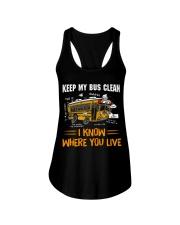 KEEP MY BUS CLEAN Ladies Flowy Tank thumbnail