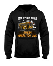 KEEP MY BUS CLEAN Hooded Sweatshirt thumbnail