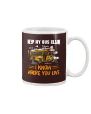 KEEP MY BUS CLEAN Mug thumbnail