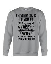 A PERFECT FREAKING WIFE Crewneck Sweatshirt thumbnail