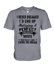 A PERFECT FREAKING WIFE V-Neck T-Shirt thumbnail