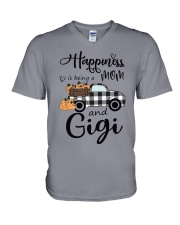 THE HAPPINESS OF GIGI V-Neck T-Shirt thumbnail