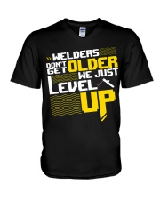 WELDERS DON'T GET OLDER V-Neck T-Shirt thumbnail