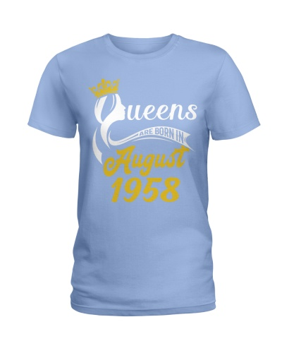 QUEENS ARE BORN IN AUGUST 1958