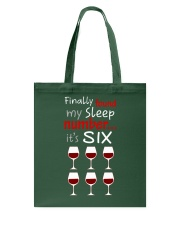 MY SLEEP NUMBER 6 CUPS Tote Bag thumbnail