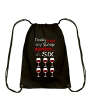 MY SLEEP NUMBER 6 CUPS Drawstring Bag thumbnail