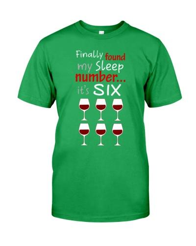 MY SLEEP NUMBER 6 CUPS