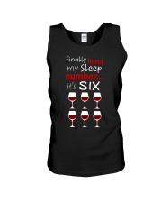 MY SLEEP NUMBER 6 CUPS Unisex Tank thumbnail