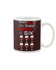 MY SLEEP NUMBER 6 CUPS Mug thumbnail