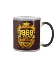 BIRTHDAY GIFT AUGUST 1968 Color Changing Mug thumbnail