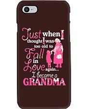 Love being a gandma Phone Case thumbnail