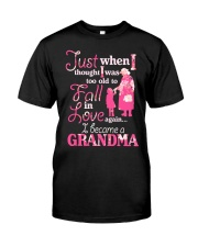 Love being a gandma Classic T-Shirt front