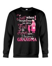 Love being a gandma Crewneck Sweatshirt thumbnail