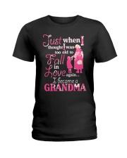 Love being a gandma Ladies T-Shirt thumbnail