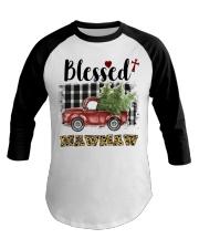 BLESSED MAWMAW Baseball Tee thumbnail