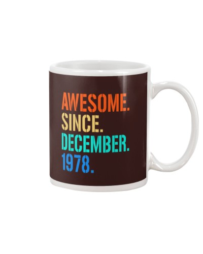 AWESOME SINCE DECEMBER 1978
