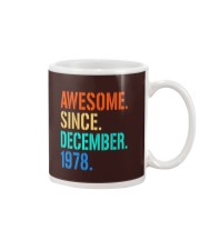 AWESOME SINCE DECEMBER 1978 Mug thumbnail