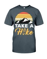 Hiking T Shirt Design118 Classic T-Shirt front