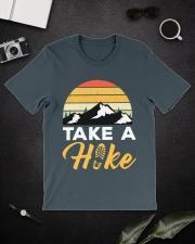 Hiking T Shirt Design118 Classic T-Shirt lifestyle-mens-crewneck-front-16