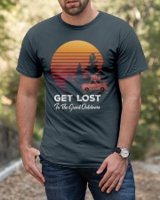 Hiking T Shirt Design114 Classic T-Shirt apparel-classic-tshirt-lifestyle-front-53