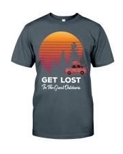 Hiking T Shirt Design114 Classic T-Shirt front