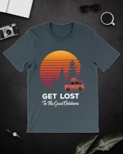 Hiking T Shirt Design114 Classic T-Shirt lifestyle-mens-crewneck-front-16