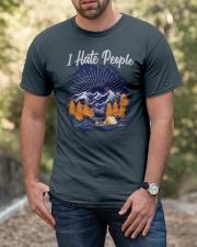 Hiking T Shirt Design34 Classic T-Shirt apparel-classic-tshirt-lifestyle-front-53