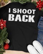 I SHOOT BACK  Classic T-Shirt apparel-classic-tshirt-lifestyle-front-81