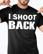 I SHOOT BACK  Classic T-Shirt apparel-classic-tshirt-lifestyle-front-92