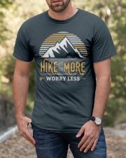 Hiking T Shirt Design21 Classic T-Shirt apparel-classic-tshirt-lifestyle-front-53