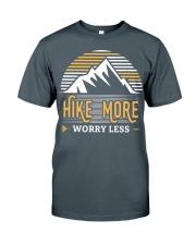 Hiking T Shirt Design21 Classic T-Shirt front