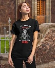 Gun Christmas Classic T-Shirt apparel-classic-tshirt-lifestyle-06