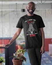 Gun Christmas Classic T-Shirt apparel-classic-tshirt-lifestyle-front-34