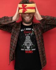 Gun Christmas Classic T-Shirt apparel-classic-tshirt-lifestyle-front-80