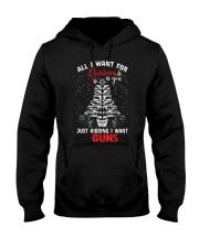 Gun Christmas Hooded Sweatshirt tile