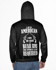 I am an american Men's All Over Print Hoodie aos-complex-men-hoodie-lifestyle-back-02