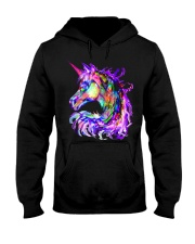 Colorful Rainbow Cute Unicorn Shirt Hooded Sweatshirt thumbnail